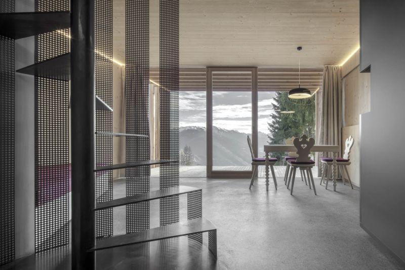 arquitectura_y_empresa_refugio Meranza_escalera caracol