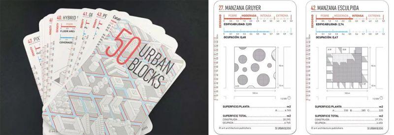 arquitectura regalo par arquitectos cartas uban blocks