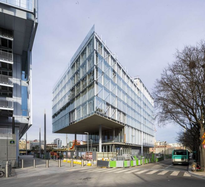 arquitectura maison de l´ordre des avocats accoya foto exterior voladizo