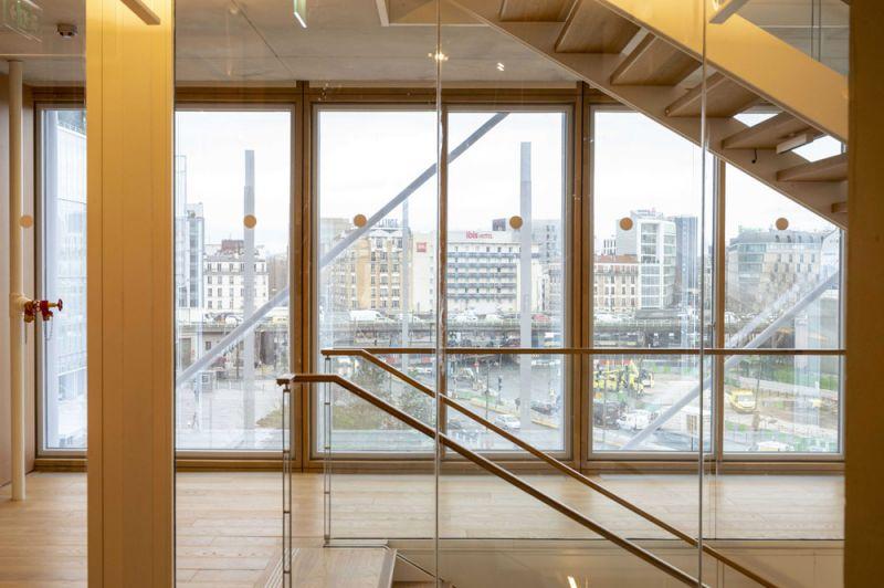 arquitectura maison de l´ordre des avocats accoya foto interior vigam escalera