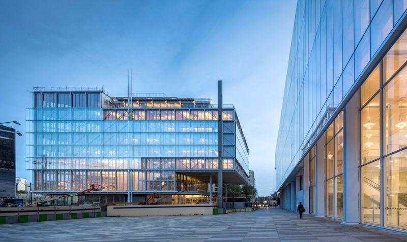 arquitectura maison de l´ordre des avocats accoya foto exterior plaza espacio publico