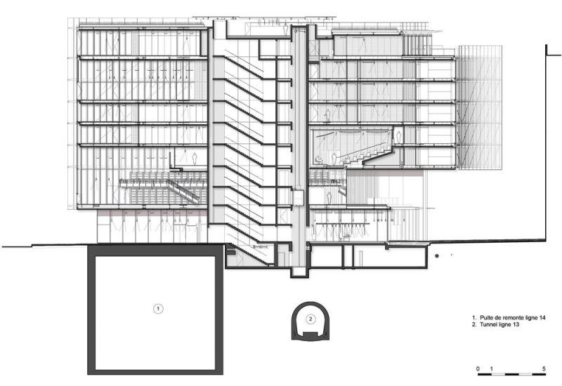 arquitectura maison de l´ordre des avocats accoya seccion