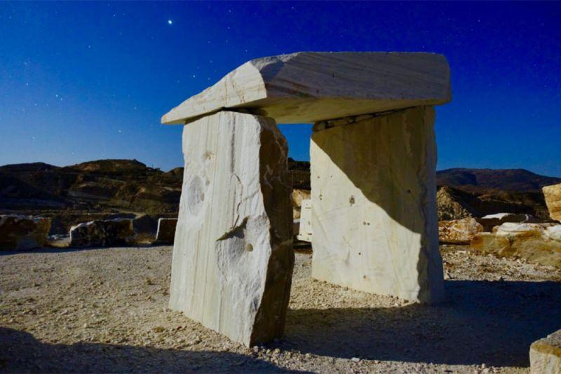 arquitectura ricardo santonja dolmen cosentino concurso escultura fundicion capa i+d+art