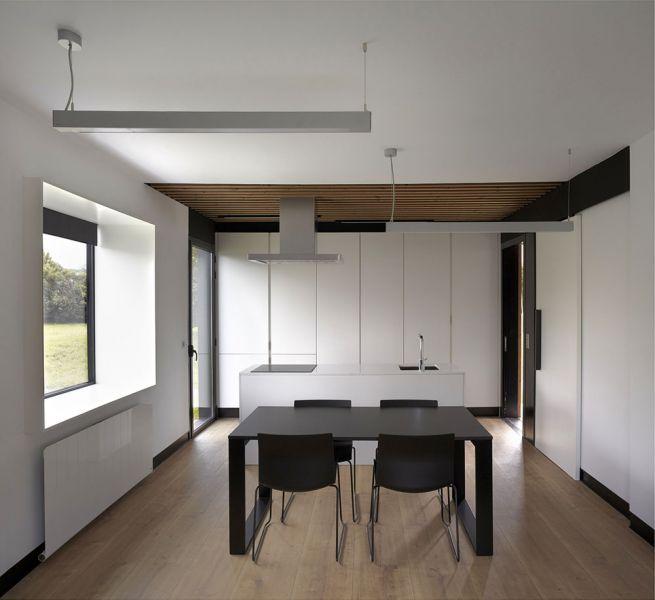 arquitectura b home baragaño vivienda modular interior cocina