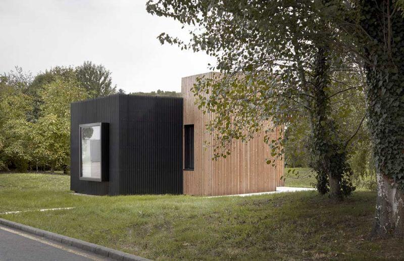 arquitectura b home baragaño vivienda modular foto exterior