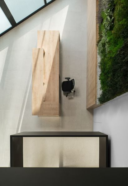 arquitectura y empresa_Ruben Muedra_Oficinas Idai_recepción