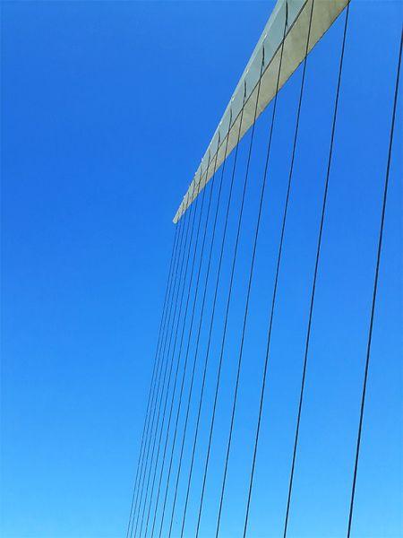 arquitectura mástil punto más alto puente de la mujer