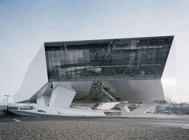 arquitectura edificio singular de europa porsche museum stutgart