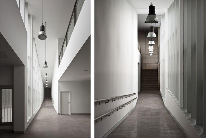 arquitectura unia arquitectos spee sevilla interior rampa pasillo