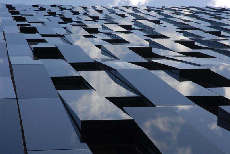 Materialidad de la fachada Torre Bolueta