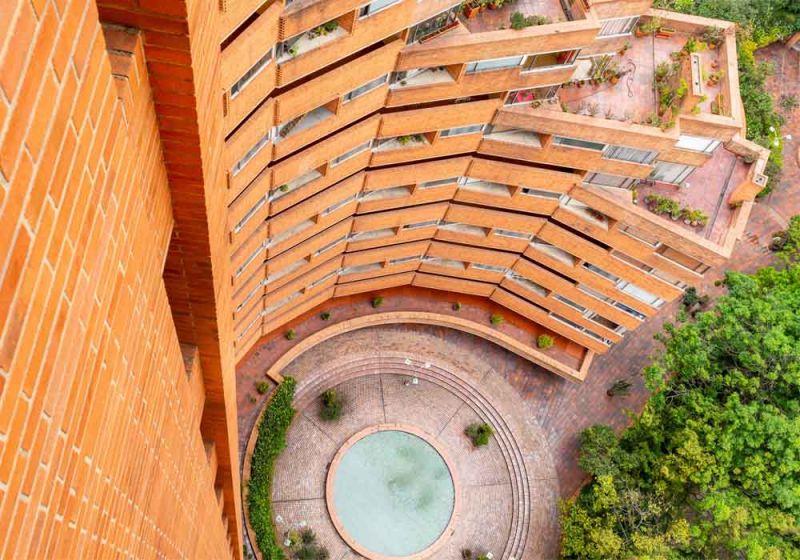 Vista aérea de las Torres del Parque. Terrazas