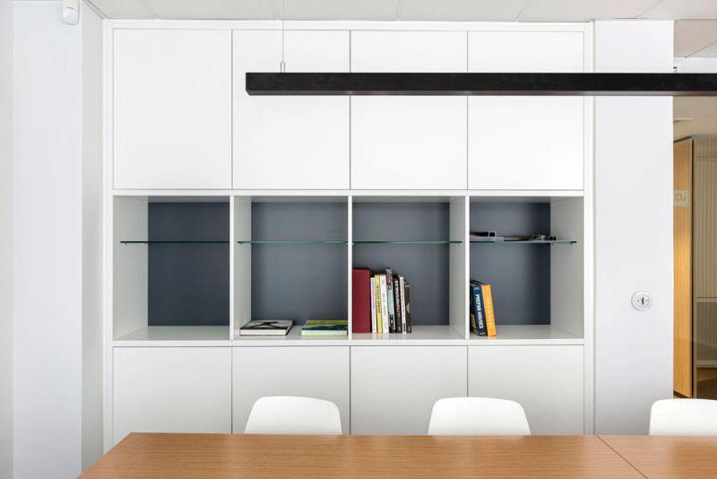 arquitectura nuevas oficinas ubicca en madrid mueble integrado