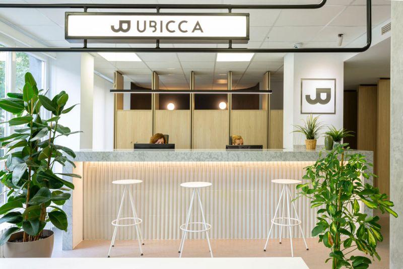 arquitectura nuevas oficinas ubicca en madrid acceso
