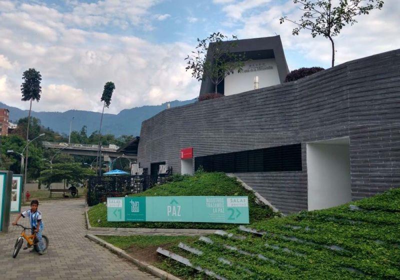 Urbanismo del Museo Casa de la Memoria