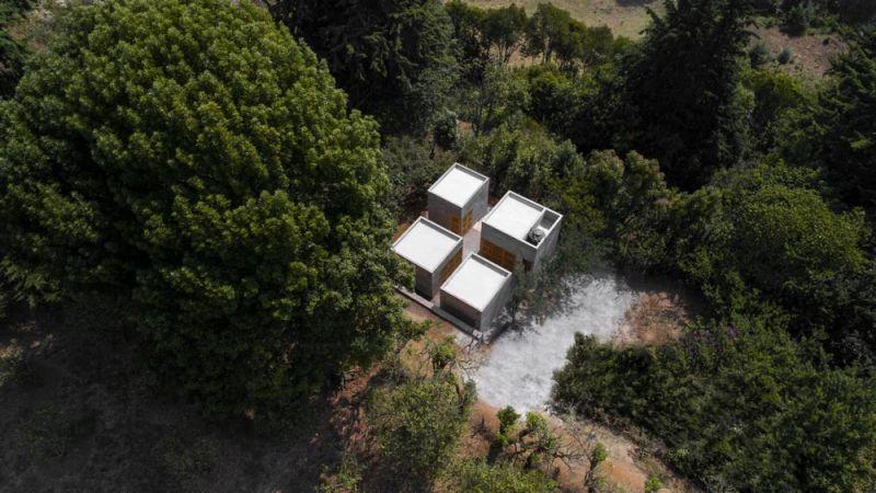 Vista aérea de la Casa Rosario