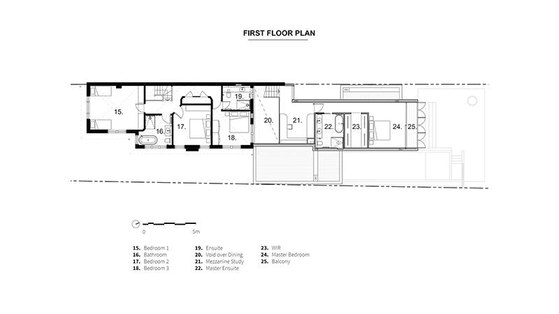 Arquitectura y Empresa, WALA, Dave Kulesza、vivienda, ampliación, casa, concepto abierto, rehabilitación, arquitectura residencial, Open Shut House, Australia, Kooyong, Melbourne, unifamiliar, parcela con desnivel