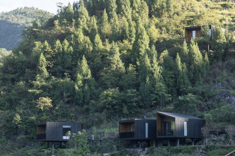 arquitectura y empresa_woodhouse hotel_cabañas