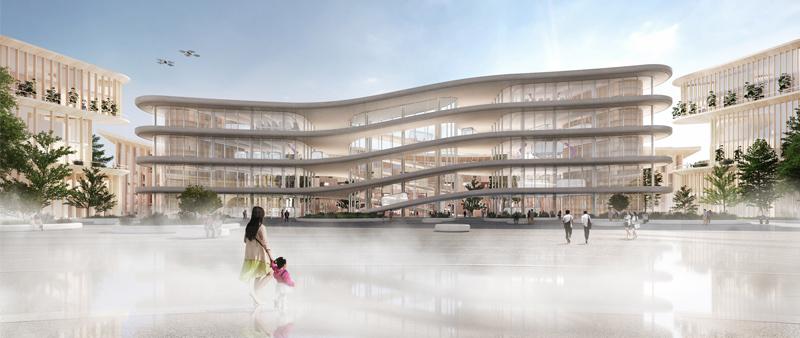 Arquitectura y Empresa, ciudad, urbanismo, future, tecnología, Inteligencia artificial, robótica, Japón, arquitectura japonesa, BIG, Toyota, Woven City, CES, Susono