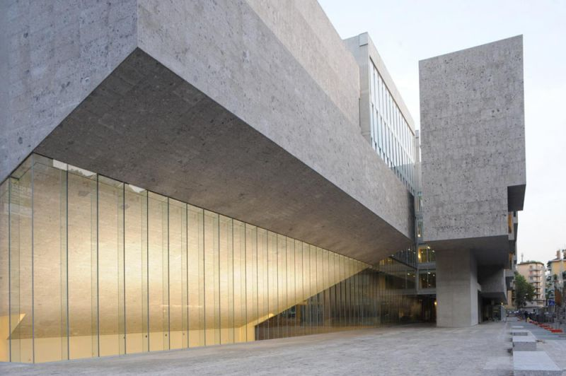 arquitectura Universita Luigi Bocconi, photo courtesy of Federico Brunetti