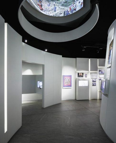 Museo Libertad Derechos Humanos_detalle central exposición