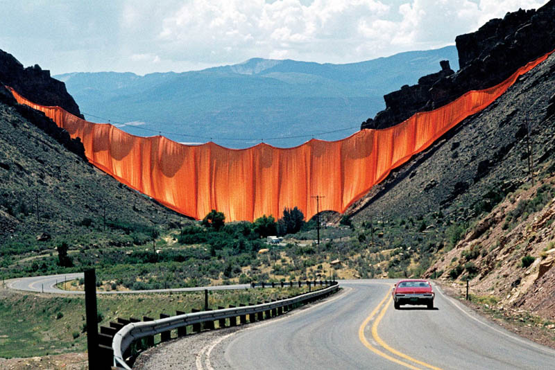 Christo_Cortina en Colorado_FOTO  WOLFGANG VOLZ