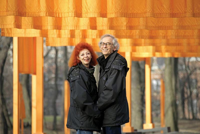 Christo_La pareja creadora_FOTO  WOLFGANG VOLZ