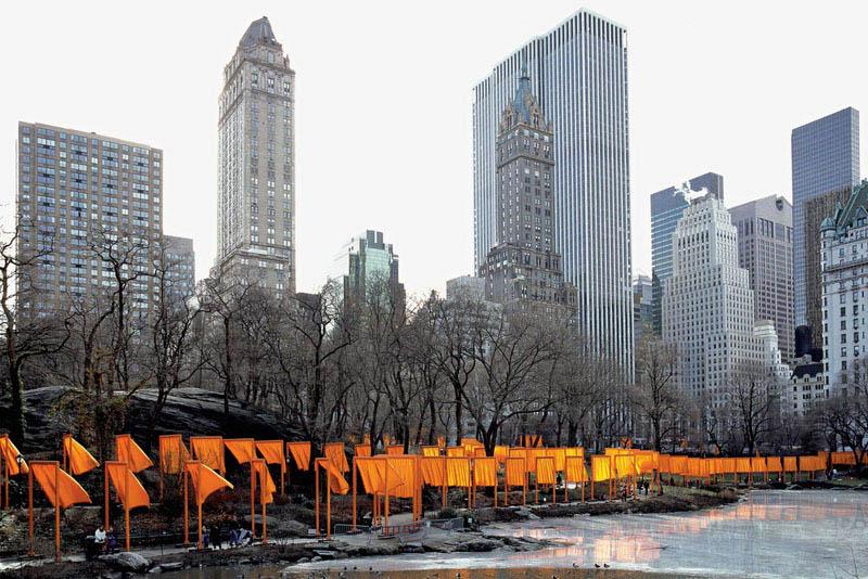 Christo_Las puertas, en Nueva York_FOTO  WOLFGANG VOLZ