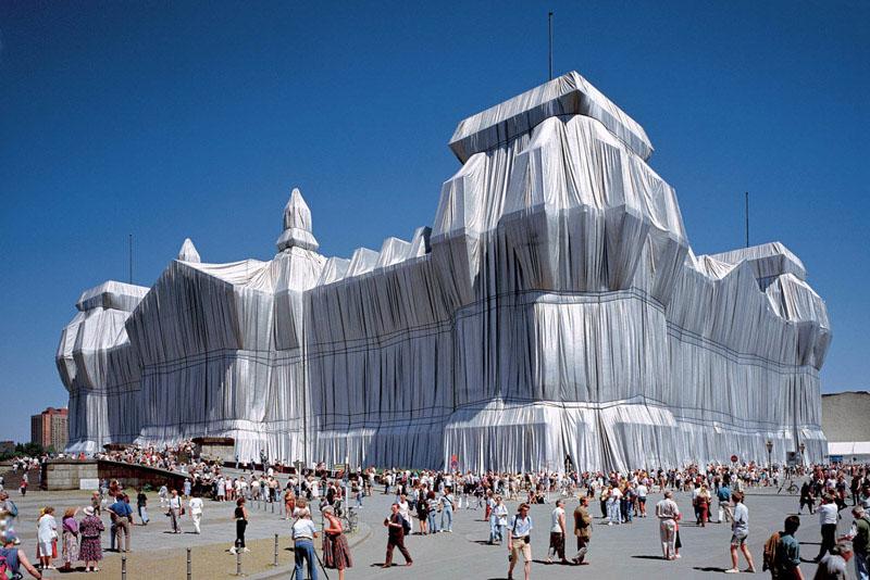 Christo_Reichstag envuelto_FOTO  WOLFGANG VOLZ