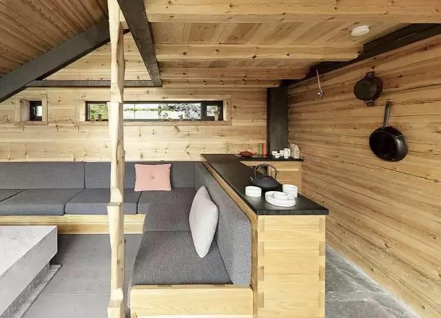 arquitectura y paisaje_refugio Snoetta_cocina 2
