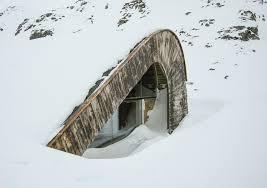 arquitectura y paisaje_refugio Snoetta_invierno