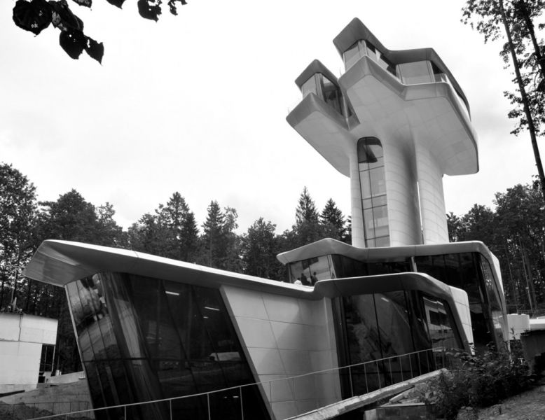 arquitectura_Zaha Hadid_Capital Hill Residence_conjunto
