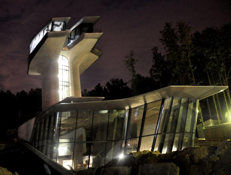 arquitectura_Zaha Hadid_Capital Hill Residence_materialidad