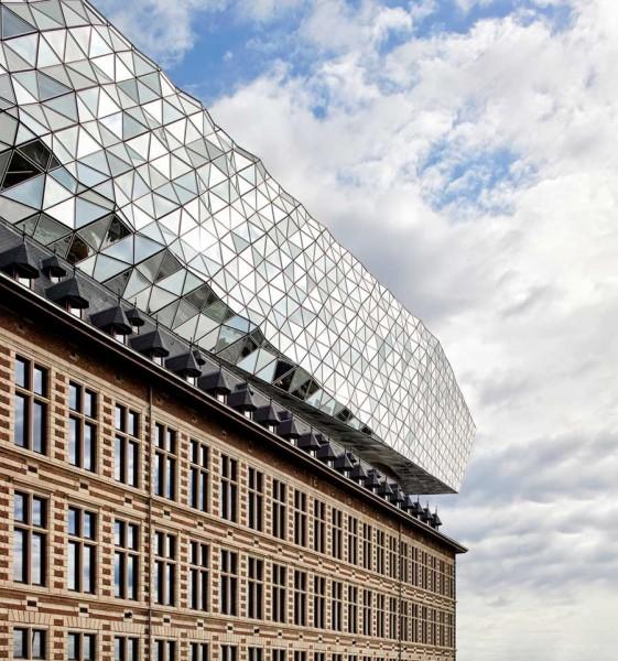 Sede Portuaria de Amberes Zaha Hadid Architects Fotografía exterior de Hufton Crow