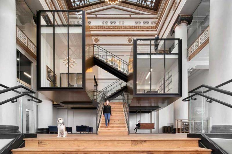 arquitectura ZFG Architects Oficinas Expensify fotografia interior de Garrett Rowland cajas