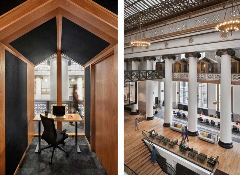 arquitectura ZFG Architects Oficinas Expensify fotografia interior de Garrett Rowland salas
