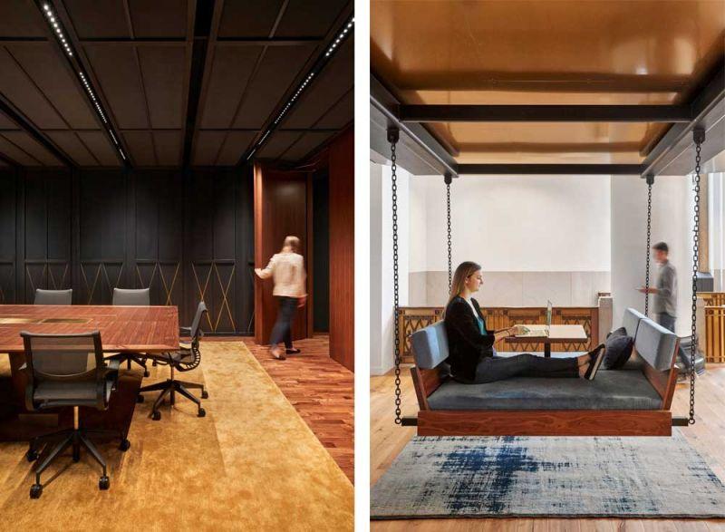 arquitectura ZFG Architects Oficinas Expensify fotografia interior de Garrett Rowland divan