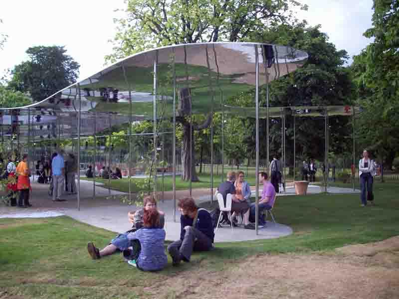 Pabellón 2009 para la Serpentine Gallery de Londres