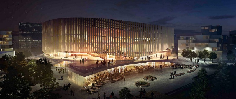 arquitectura, arquitecto, diseño, design, madera, materiales, ACCOYA, 3XN, estudio de arquitectura, Dinamarca, Royal Arena, Copenhague