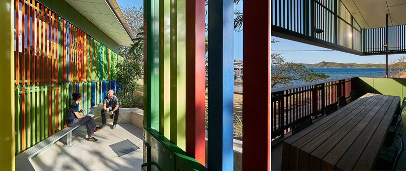 arquitectura, arquitecto, diseño, design, WILSON ARCHITECTS, Australia, centro de salud, AITHM, enfermedades tropicales, Isla Thursday