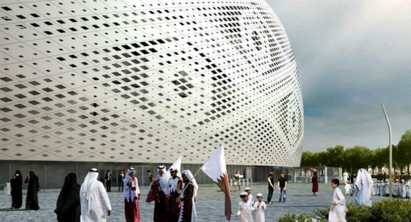 arquitectura, arquitecto, diseño, design, Qatar, Catar, Emiratos Árabes, estadio, futbol, FIFA World Cup 2022, Ibrahim M Jaidah, Al Thumama Stadium, Ibrahim Jaidah Architects & Engineers