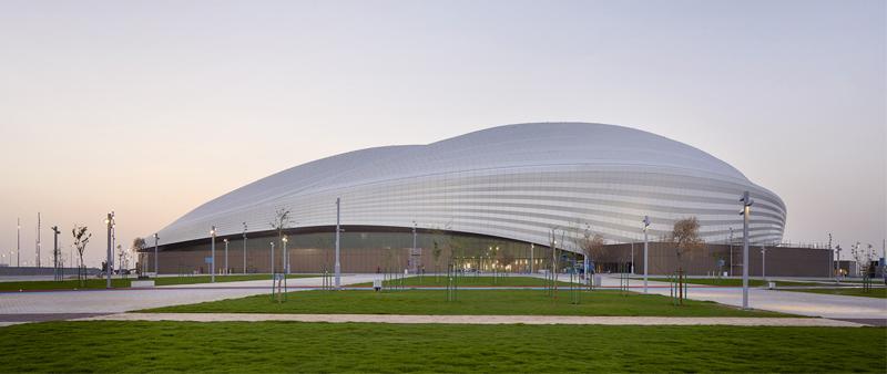 arquitectura, arquitecto, diseño, design, ZHA, Zaha Hadid Architects, Hufton + Crow, Luke Hayes, estadio futbol, Qatar, FIFA 2022, mundial