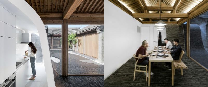 arquitectura, arquitecto, diseño, design, Arch Studio, Pekín, China, casa patio, tradicional, Siheyuan, Hutong, casa, vivienda, residencia, hostal, flexible
