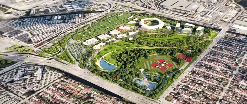 arquitectura, arquitecto, diseño, design, David Beckham, Miami, Arquitectonica, Club Internaćional De Fútbol, Miami Freedom Park, Soccer Village, estadio futbol