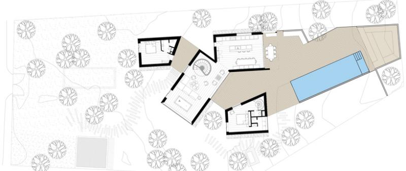 arquitectura, arquitecto, diseño, design, francia, vacaciones, verano, casa, vivienda, residencia, privada, proyecto, Atelier Du Pont, madera, bosque, Cap Ferret, montaña
