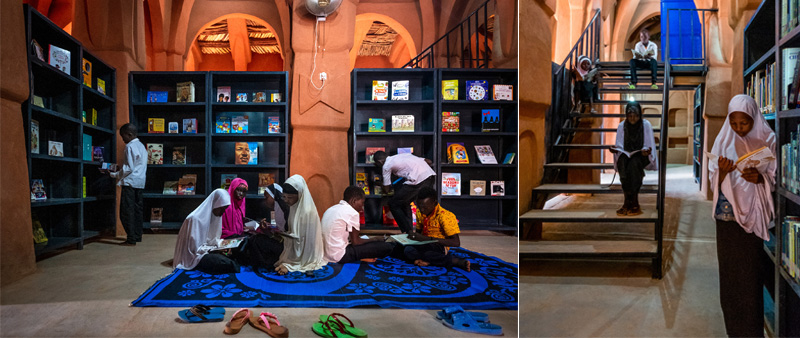 arquitectura, arquitecto, diseño, design, mezquita, islam, Nigeria, rehabilitación, biblioteca, centro social, centro cultural, Atelier Masomi, James Wang