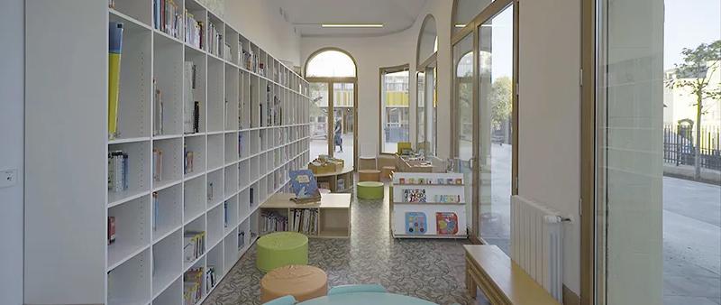 arquitectura, arquitecto, diseño, design, Building Pictures, B720 Fermín Vázquez Arquitectos, Barcelona, colegio, liceo francés, Arquitectura y Empresa