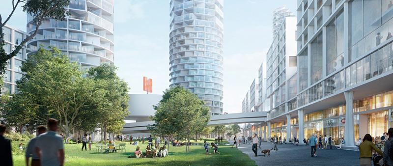 arquitectura, arquitecto, design, Herzog & de Meuron, torre, residencial, proyecto, Suiza, Basilea, espacios verdes, apartamentos, viviendas, sostenible, sostenibilidad