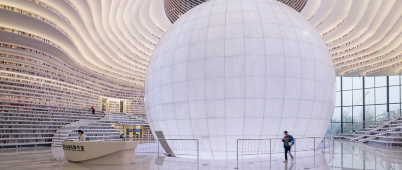 arquitectura, arquitecto, diseño, design, educación, Biblioteca pública, Tianjin, cultural, libros, China, MVRDV, Rotterdam, GMP, edificio público, planificación urbana, Binhai