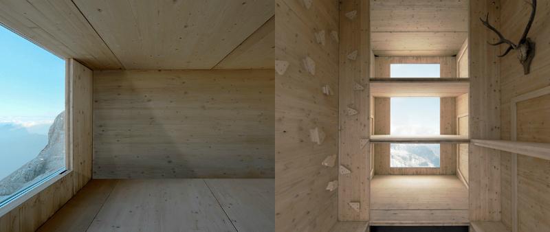 arquitectura, arquitecto, diseño, design, OFIS Architects, Eslovenia, Monte Kanin, montaña, cabaña, refugio, vivienda, minimalista, mini, madera, helicóptero
