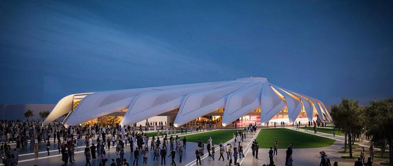 arquitectura, arquitecto, diseño, design, Calatrava, Calatrava International LLC, Arabtec Construction, Expo de Dubái 2020, Pabellón de Emiratos Árabes Unidos